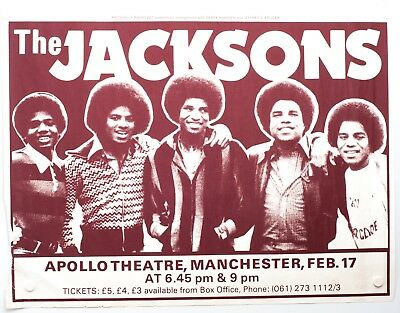 0628 Vintage Music Poster Art - The Jackson At Manchester