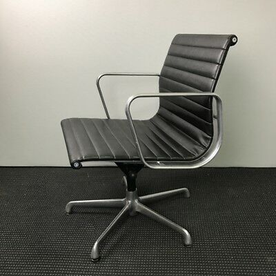 Genuine ICF Produced Charles Eames Aluminium Chairs Made For Herman Miller