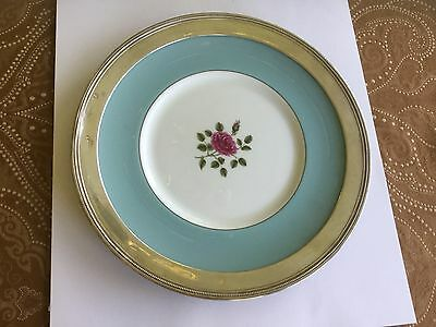 Wallace Sterling rimmed Platter Plate Royal Doulton