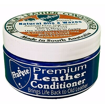 FraPete Leather Conditioner Wax Moisturizes Restores and Protects - Neutral 230g