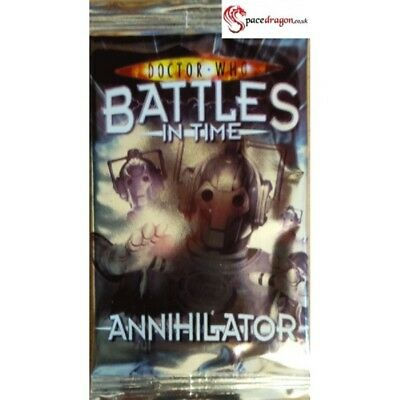 Doctor Who Battles In  Time( Annihilator ) Booster