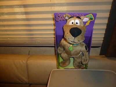 Scooby Doo Large Talking Soft Plush -Brand New