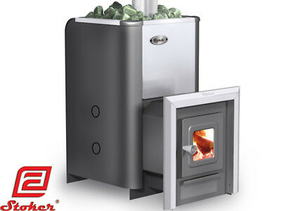 Ermak 20 Premium Wood Burning Sauna Stove Heater Fireplace Steam Bath