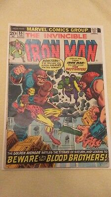 Iron Man #55 (1968 1st Series) National Diamond insert version THANOS Good +