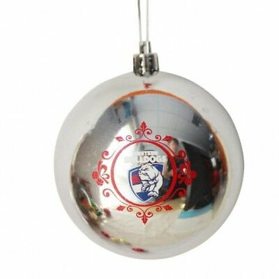 Western Bulldogs Official AFL Christmas Tree Bauble Pk 6 FREE POST