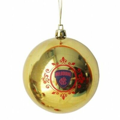 Melbourne Demons Official AFL Christmas Tree Bauble Pk 6 FREE POST