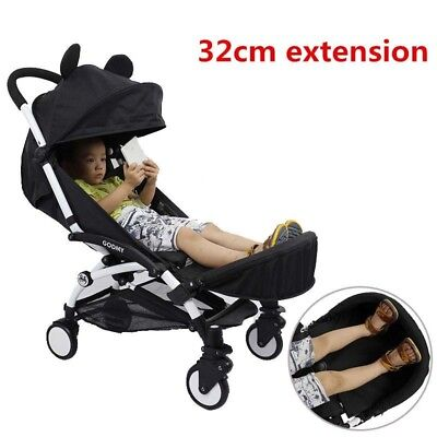 New Baby Stroller Accessories Extended 32Cm Foot and Arm Rest Set Feet Extension