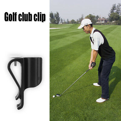 5x Golf Bag Clip On Putter Clamp Holder Putting Tool Club Golf Ball Markers