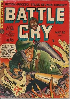 Battle Cry #1 1952 Stanmor Golden Age War Comic Book