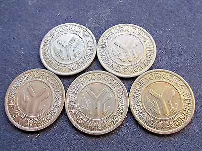 One Nyc New York City Special Fare Aqueduct Racetrack Transit Subway Token Bu