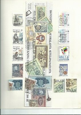 Stamps Finland Nice Modern Selection Fine Used [Ref 7]