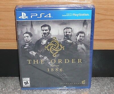 PS4 - THE ORDER 1886 (Brand NEW Sealed) NTSC worldwide shipping Shooter