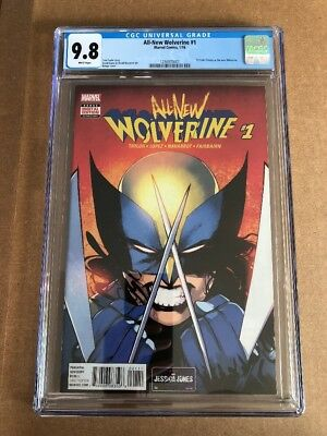 ALL NEW WOLVERINE #1 (2016) CGC 9.8 (NM+/M) X-23 1st App New Wolverine! Cover A