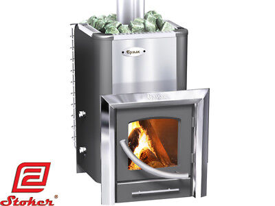 Ermak 20 Premium Plus Wood Burning Sauna Stove Heater Fireplace Steam Bath