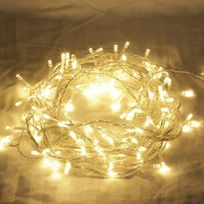 100M 500LED Christmas Fairy String Light Wedding Garden Party Outdoor
