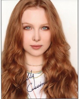 MOLLY QUINN HAND SIGNED 8x10 COLOR PHOTO          GORGEOUS STAR OF CASTLE