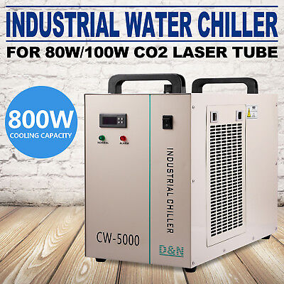 CW-5000DG Thermolysis Type Water Cooling Chilr For Laser Engraving Machine