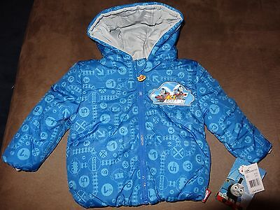 Thomas The Tank Engine Toddler's  Reversible Jacket-Size 2T-Free Shipping-New