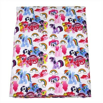 Fabric My Little Pony Friendship Is Magic Polycotton Blend 50 X145 Cm/20*58 In