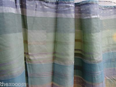 LOT OF 4 - (Pattern Q) - HOSPITAL PRIVACY/CUBICLE CURTAINS - FLAME RETARDANT