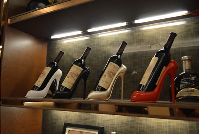 High Heel Shoe Wine Bottle Holder Stylish Wine Rack Bar Accessories Bottle Stand