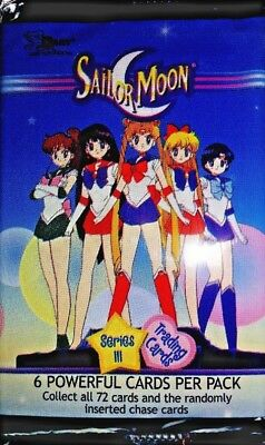 Sailor Moon Series three Trading cards new /sealed