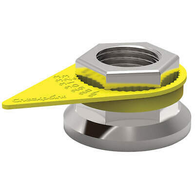 CHECKPOINT Loose Wheel Nut Indicator,22mm,Plastic, CPY22MM