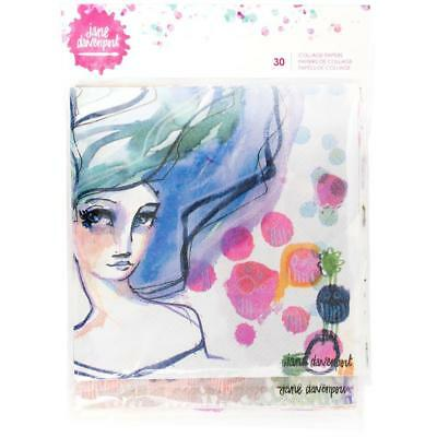 Jane Davenport Collage Papers - 6 Designs - 30 Sheets