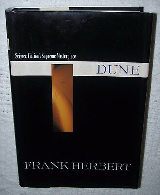 DUNE: DUNE 1 by FRANK HERBERT 1999, HARDCOVER w/ DUST JACKET, ACE BOOK - VG