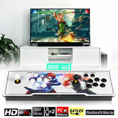 Pandora'S Box 4s Double Stick 2 Players Home Arcade Console - 800 Video Games