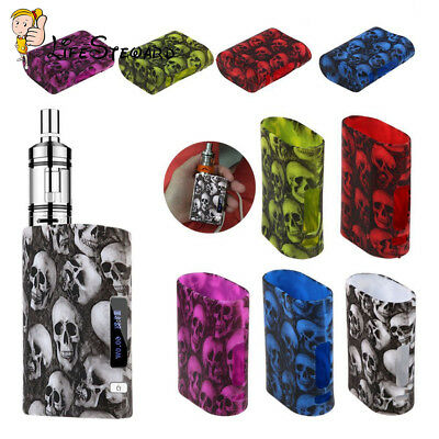 Skulls Pattern Silicone Case Cover Sleeve For Eleaf iStick Pico 75W Mod Stick