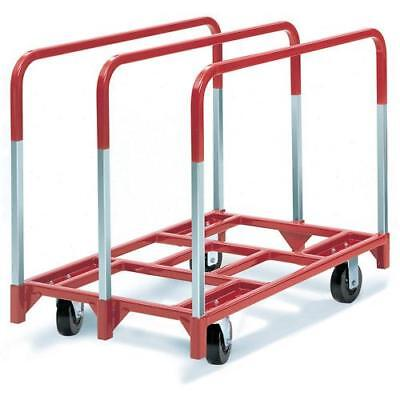 "Wood Cart Glass Cart Utility Cart Swivel Panel Mover 5"" x 2"" Phenolic Casters"