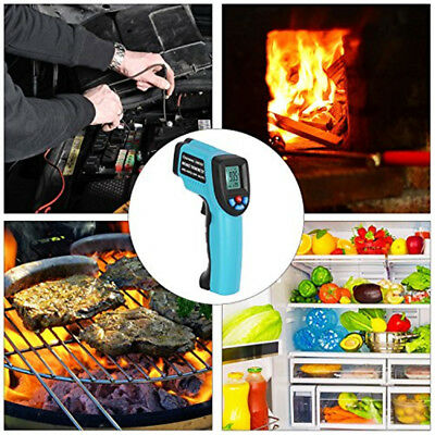 Temperature Gun Non-Contact Infrared Thermometer Digital Pyrometer Laser