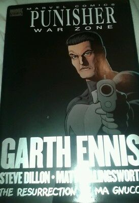 Punisher: War Zone -The Resurrection of Ma Gnucci -Marvel Hardcover -Garth Ennis