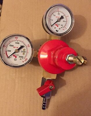 Micro Matic Co2 Primary Gas Regulator Soda or Beer System Use