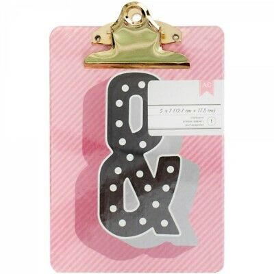 "American Crafts Mini Clipboard 5""X7"""