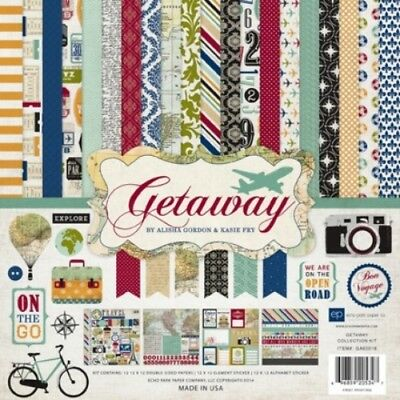 "Echo Park - Getaway Collection Kit 12"" x 12"""