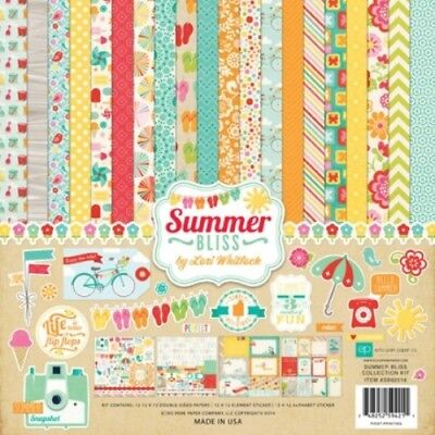 "Echo Park - Summer Bliss Collection Kit 12"" x 12"""