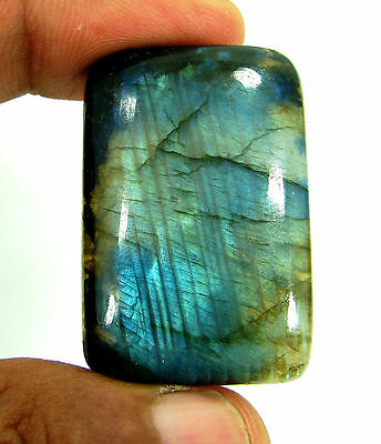 91.20 Ct Natural Cabochon Labradorite loose gemstone -  H 216