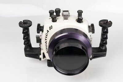 Aquatica 80 housings for underwater photography for Nikon F-801