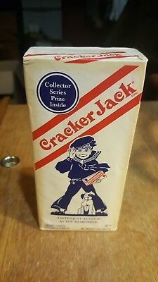 2004 Cracker Jack Box Collector Retro Vintage Style Box W/ Prize Unopened Ex++