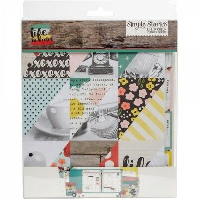 """Simple Stories - Life in Color Planner Set 6""""X8"""""""