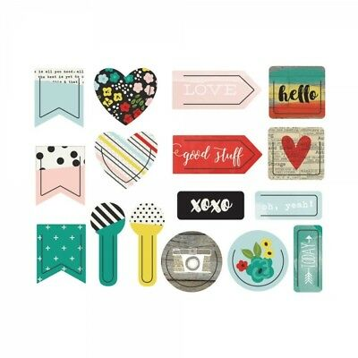 Simple Stories - Sn@p! Deco Shape-Life in Color Clips
