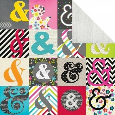 """Simple Stories Diy Boutique Design Cardstock  12 x 12"""" Outside the Box"""
