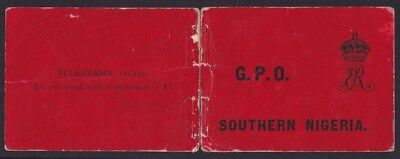 Southern Nigeria 1904 Booklet Front & Back covers