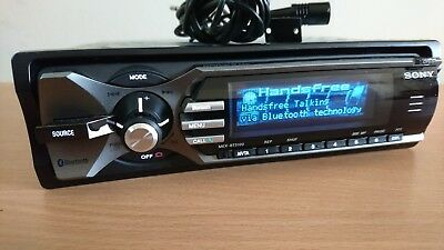 Sony MEX-BT5100 car van stereo with Bluetooth for music streaming or hands free