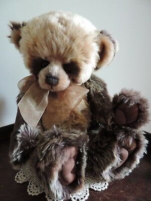 Charlie Bears REUBEN, 2012 Collection, Retired Very Hard to Find  ~FREE POST