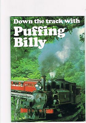 Down the track with PUFFING BILLY