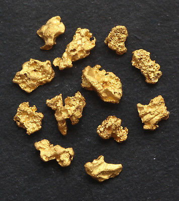 Natural Western Australia GOLD NUGGETS 2.00 grams
