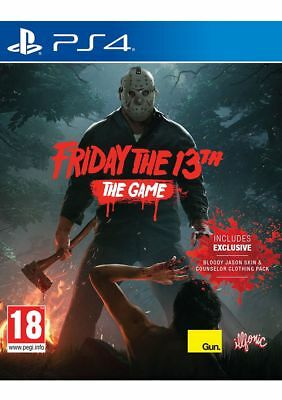 Friday The 13th PS4 Game PAL New/Sealed Aussie Seller A+++++ In stock Now